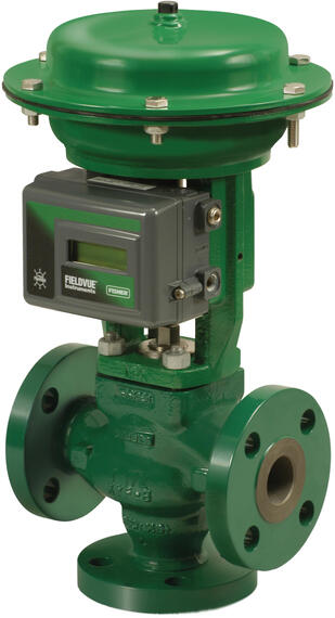 Fisher GX 3-Way Valve