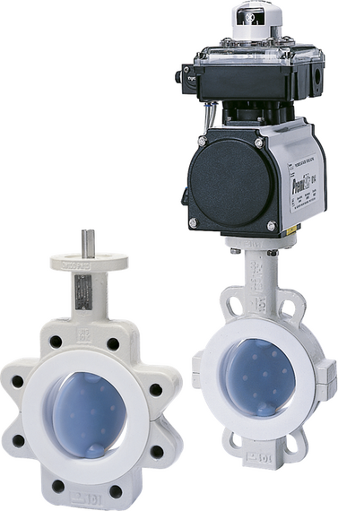 Model NeoSeal Lined Butterfly Valves