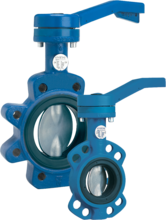 Keystone Figure 320/322 Resilient Seated Butterfly Valve