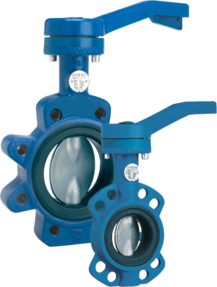 Figure 320/322 Resilient Seated Butterfly Valve