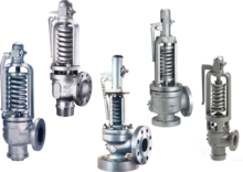 Crosby H Series Direct Spring Safety Valves