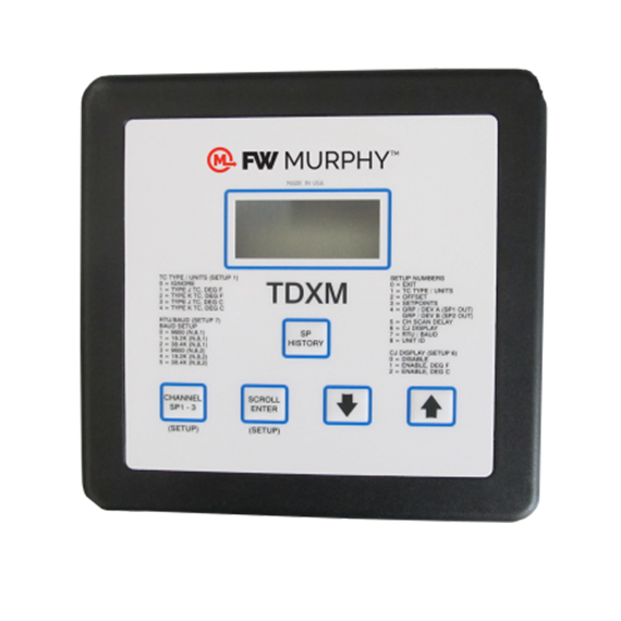 FW Murphy Temperature Scanner TDXM and TDX6