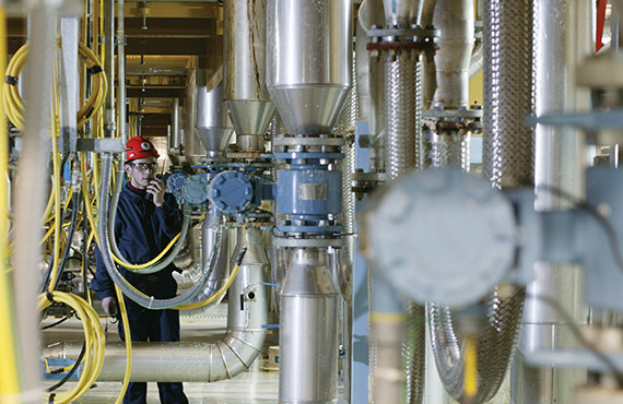 An accurate energy balance is crucial in steam plant management.