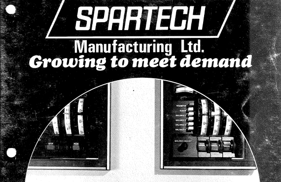 Spartech Manufacturing is Formed